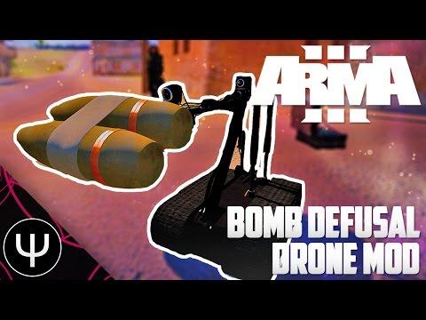 ARMA 3 - UAV Control Test - смотреть онлайн на Hah Life