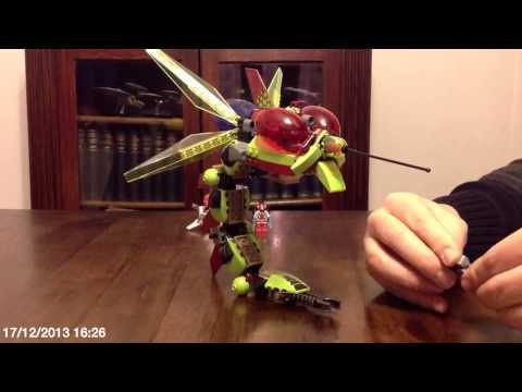 Vidéo LEGO Galaxy Squad 70702 : L'attaque de l'insecte