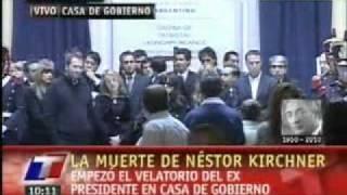El Velatorio De Néstor Kirchner TN