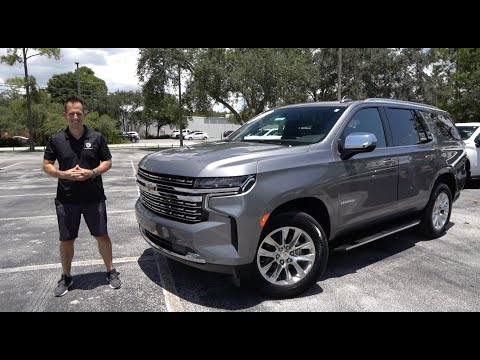 External Review Video Mk-FSK-kvJg for Chevrolet Tahoe & Suburban SUV (5th Gen)