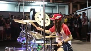 S White Drum Cover Boys Like Girl - Love Drunk