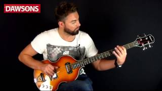 Dawsons Music - Epiphone Viola Bass Guitar Review
