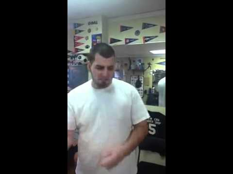 White Boy Freestyle @ New Era Barbershop (Goes in off the top)