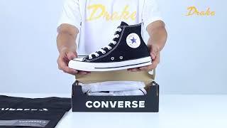 Converse Chuck Taylor All Star Classic Đen Cổ Cao 121186