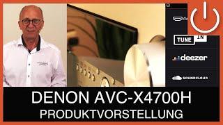 DENON 8K AV-Verstärker*) AVC-X4700H, lohnt sich der Aufstieg ? - THOMAS ELECTRONIC ONLINE SHOP -