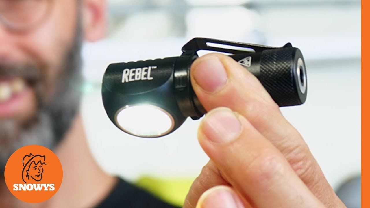 Rebel Rechargeable Task Light & Headlamp