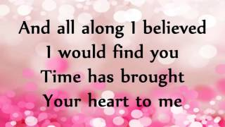 A Thousand Years Christina Perri song with lyrics