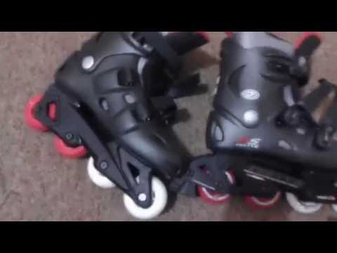 California Pro Misty II Inline Roller Skates Unboxing Review