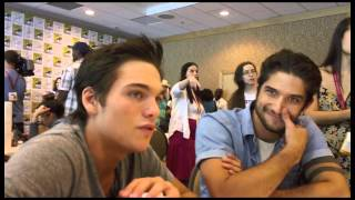 Дилан Спрейберри, Tyler Posey and Dylan Sprayberry Interview - Teen Wolf