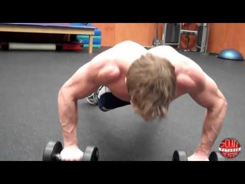 How To: Dumbbell Push-Up into a Row