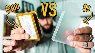 $3 Card Guard vs $200 Card Guard!!