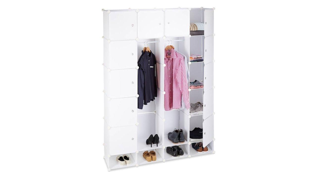 Video von: Kleiderschrank Stecksystem 18 Fächer