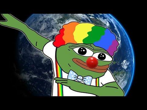 PANIC Over Clown World Meme 🤡🌎