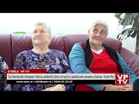 Ziua Internațională a Persoanelor Vârstnice, sărbătorită la Centrul de îngrijire și asistență pentru persoane cu handicap – Puchenii Mari
