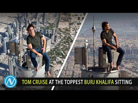 Tom Cruise At The Toppest Burj Khalifa Sitting Steemit