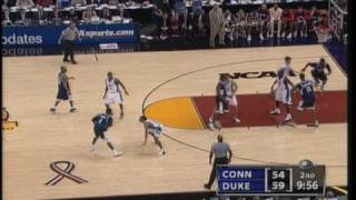 2004 Final Four UCONN vs Duke