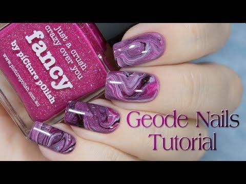 Dry Marble Nail Art Youtubefreevideos