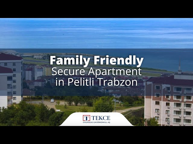 Luxury Flat with an Unobstructed Sea View in Trabzon