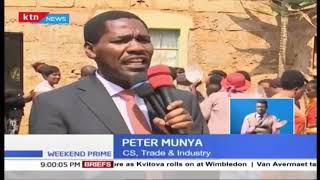 Peter Munya says no cause for alarm over DP Ruto 'murder plot'