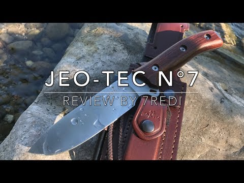 JEO-TEC N°7 Review – Excellent Stainless Outdoor / Survival Knife!