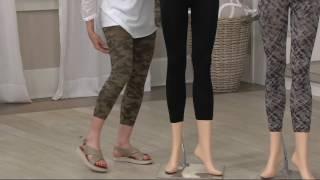 56ce03940de2a Spanx Jean-Look Ankle Length Leggings on QVC - QVCtv
