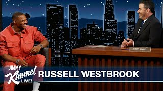 Russell Westbrook on Being a Laker, Playing with LeBron, AD & Melo, & That Pickup Game Against Kobe