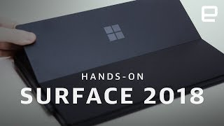 Microsoft Surface PCs 2018 Hands-On