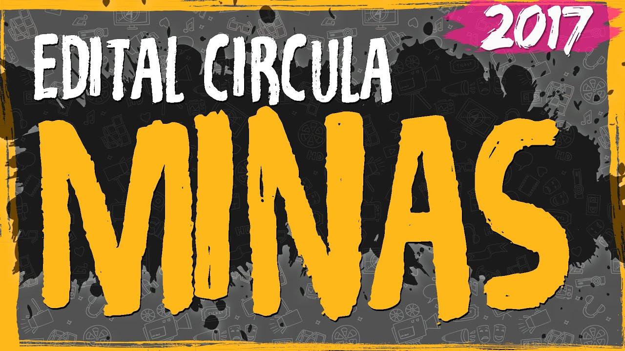 Edital Circula Minas – 2017