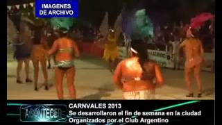 preview picture of video 'LANZAMIENTO CARNAVALES 2015 EN MARCOS JUAREZ NEW'