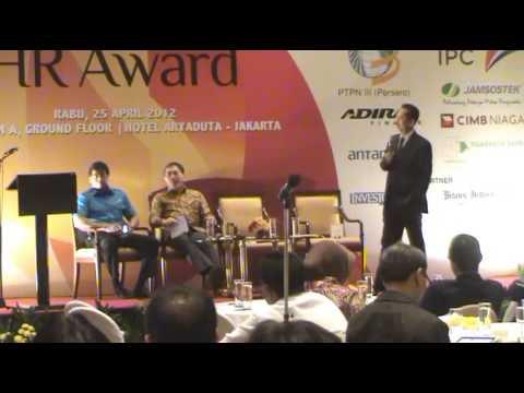 Gatot Trihargo, Deputi Menteri BUMN, Seminar HR Award