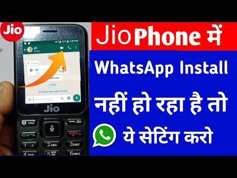 whatsapp download in jio phone keypad