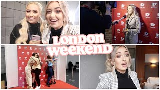 A CRAZY WEEKEND IN LONDON... Vidcon & I'm going WHERE?!