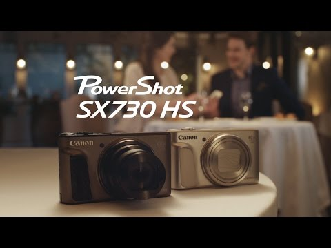 Introducing the Canon PowerShot SX730 HS Camera