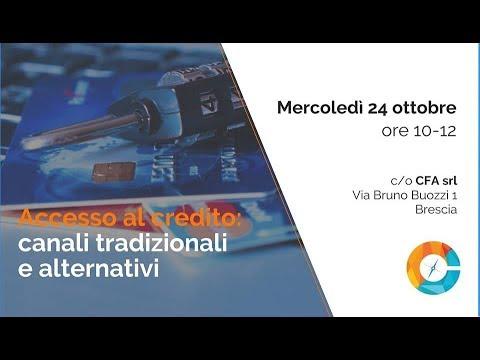 Accesso al Credito canali Tradizionali e Alternativi: cassetta degli strumenti