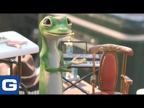 Geico Ad The Gecko Has A Yard Sale Geico Insurance 2019