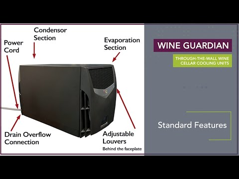 Video thumbnail for Wine Guardian Through the Wall Wine Cellar Cooling Units