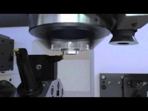 Hartdrehen + Schleifen in einer Maschine: VLC 250 DS