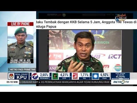 1 Anggota TNI Gugur dalam Baku Tembak dengan KKB Papua