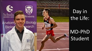 Day in the Life of an MD-PhD Student | 75 Hours of Research & Running