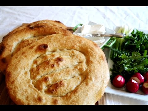 Armenian Flatbread Matnakash Recipe – Մատնաքաշ – Heghineh Cooking Show