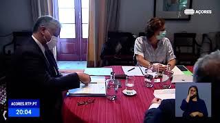 Berto Messias apresenta medidas económicas decorrentes do Conselho do Governo