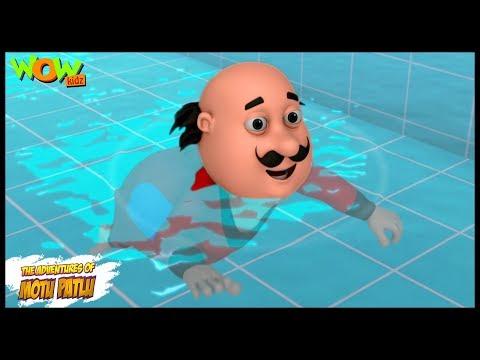 Motu Patlu Cartoons In Hindi |  Animated Series | Swimming Pool | Wow Kidz