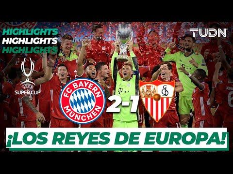 Highlights | Bayern Múnich 2-1 Sevilla | Final Supercopa Europa 2020 | TUDN