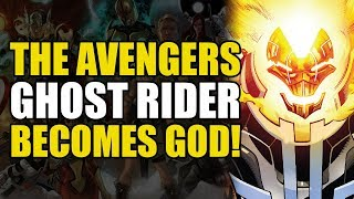 Iron Man's Godkiller Mk.2/Ghost Rider Becomes God (Avengers Vol 1: Final Host)