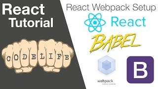 Build a starter app with React, Webpack and Babel in this React JS Tutorial for Beginners