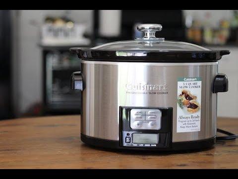 , Cuisinart PSC-350 3-1/2-Quart Programmable Slow Cooker