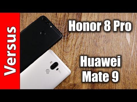 Honor 8 Pro vs. Huawei Mate 9