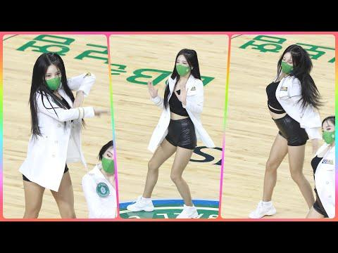 [4K] 치어리더 원민주 직캠 (cheerleader) - 특별공연(환불원정대 - DON'T TOUC…