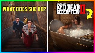 What Happens If You Follow The Brothers And Their Girlfriend To The Hotel In Red Dead Redemption 2?