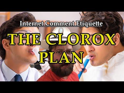 """Internet Comment Etiquette: """"The Clorox Plan"""""""